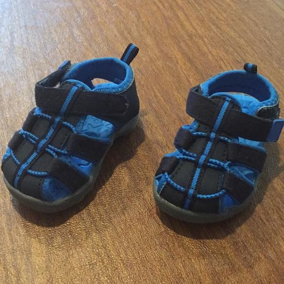 Koala Kids Baby Boy Size 4 Blue Sandals